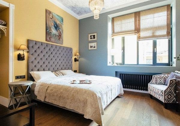 Взрослая спальня в старом фонде