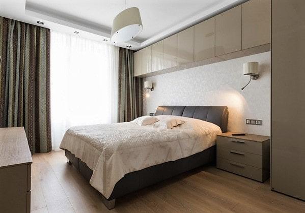 Современна спальня в 2-комнатной квартире