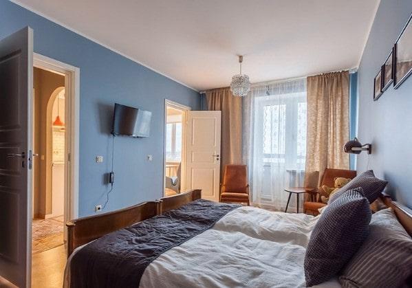 2-комнатная квартира с нетипичной планировкой