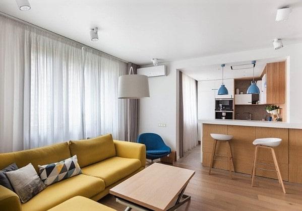 Стильный современный ремонт 3-комнатной квартиры