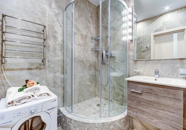 Дизайнерский ремонт ванной в 3-комнатной квартире
