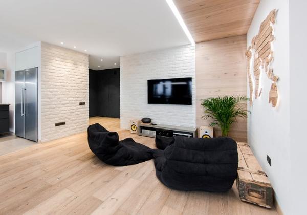 Светлый ремонт 4-комнатной квартиры с перепланировкой