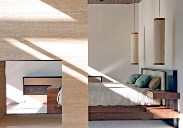 Ремонт спальни в 4-комнатной квартире в Японском стиле