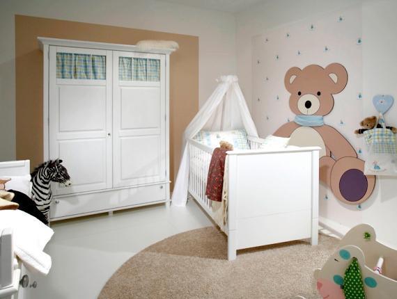 ремонт детской комнаты для самых маленьких
