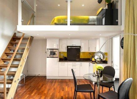 Дизайн двухуровневой комнаты СПб