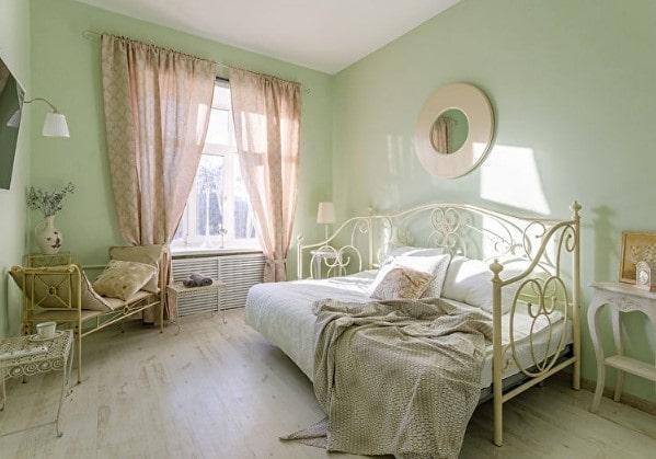 Уютная спальня для подростка в стиле Кантри