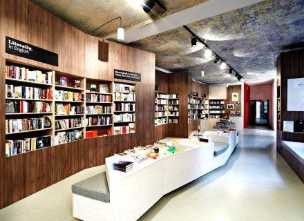 Ремонт книжного магазина СПб