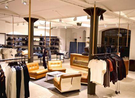 Ремонт магазина одежды СПб