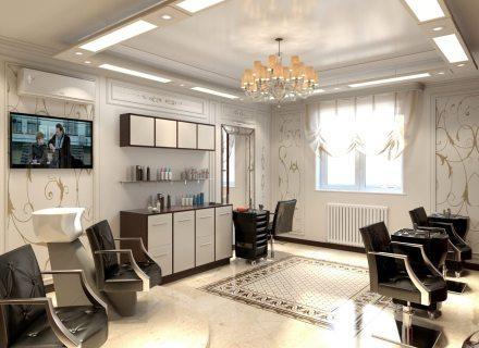 Недорогой ремонт парикмахерской СПб