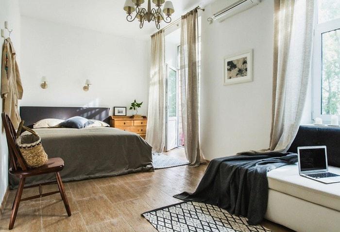 Ремонт по дизайн-проекту, спальня в скандинавском стиле