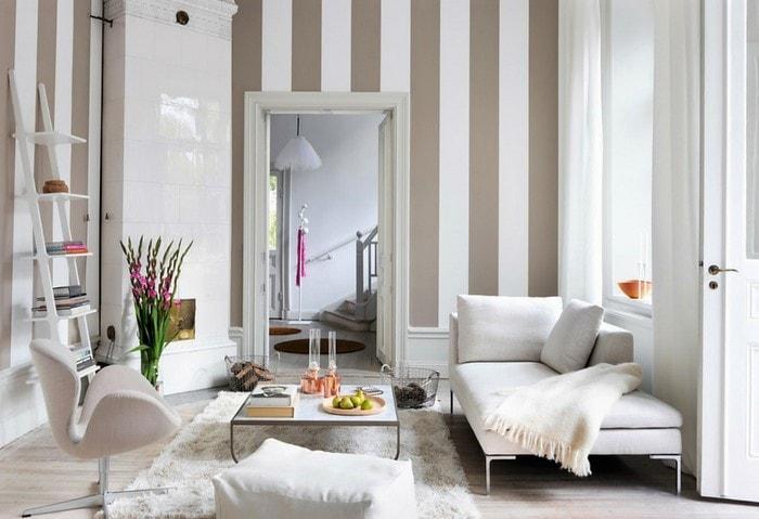 Ремонт квартиры по дизайн-проекту, старый фонд, Сканди с сохранением оригинального камина