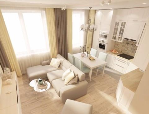 Ремонт трёхкомнатной квартиру Кудрово
