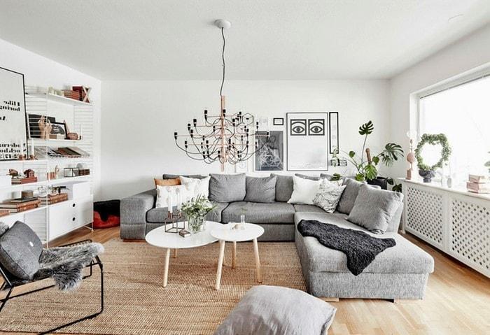 Дизайн квартиры в классическом скандинавском стиле
