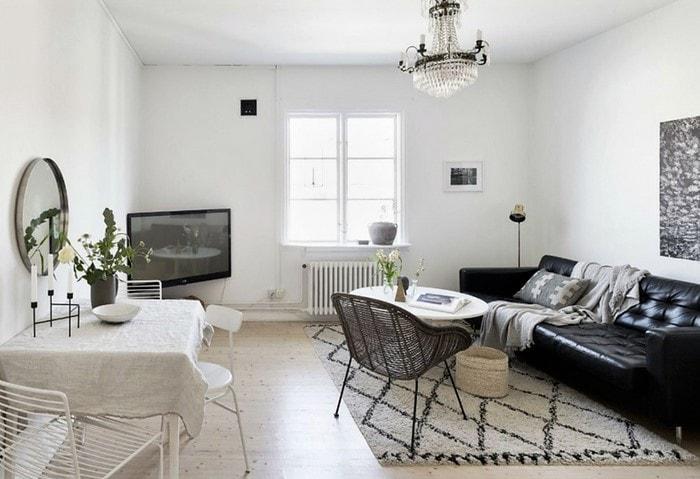 Дизайн квартиры в светлом скандинавском стиле