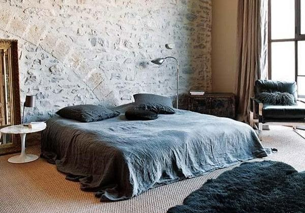 Оригинальная спальня Индастриал