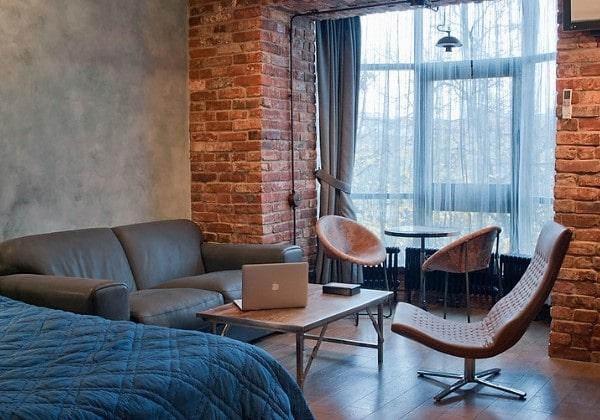 Стиль Индастриал в ремонте квартир