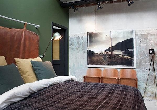 Ремонт спальни в стиле Индастриал