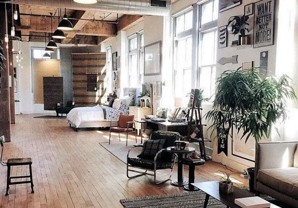Квартира в Индустриальном стиле