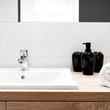 Ремонт в ванной класса комфорт