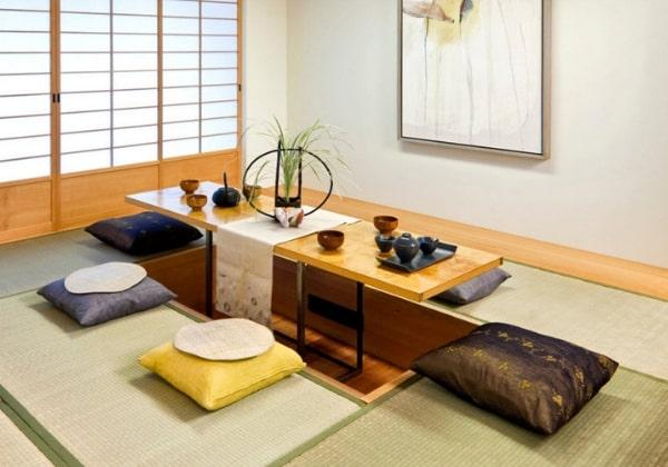 Столик для традиционных японских чаепитий