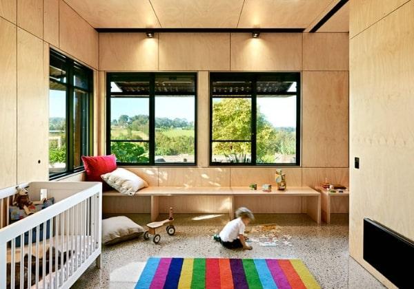 Японский дизайн отлично подходит для детских комнат, естественные материалы не вредят ребёнка, атмосфера приятная, ничего не режет глаз и не перегружает
