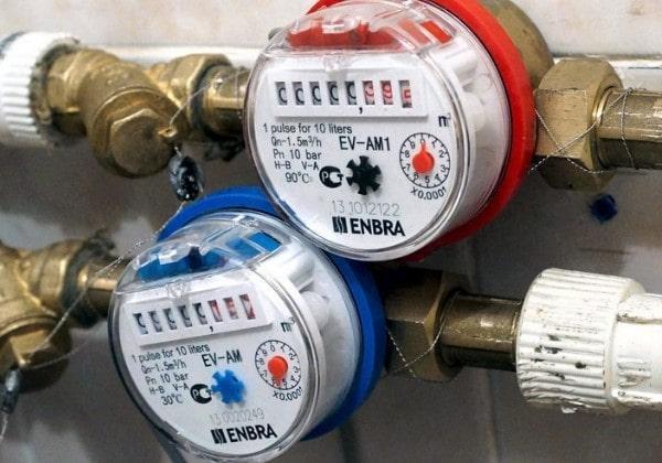 Установка счетчика горячей воды СПб