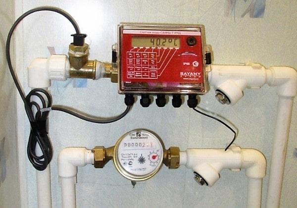 Установить счетчик с термодатчиком СПб