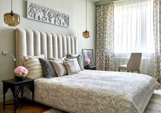 Под ключ ремонт спальной комнаты СПб