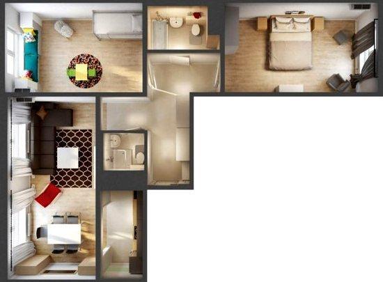 Ремонт трёхкомнатной квартиры Санкт-Петербург