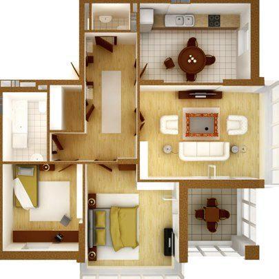 Ремонт трёхкомнатной квартиры СПб