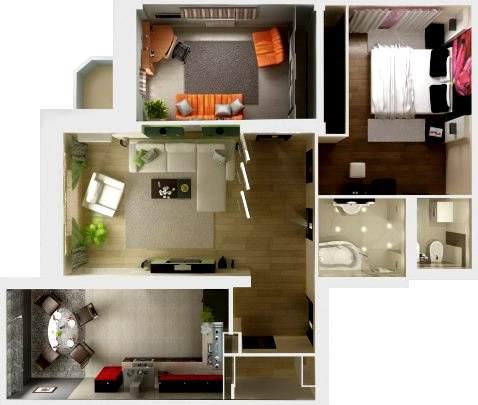 Ремонт 3 комнатной квартиры СПб
