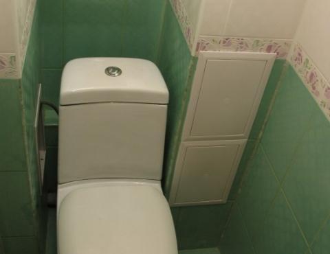 Установка лючка в туалет