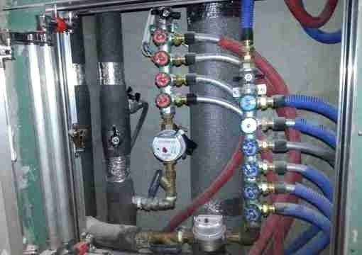 Установка счётчиков воды СПБ