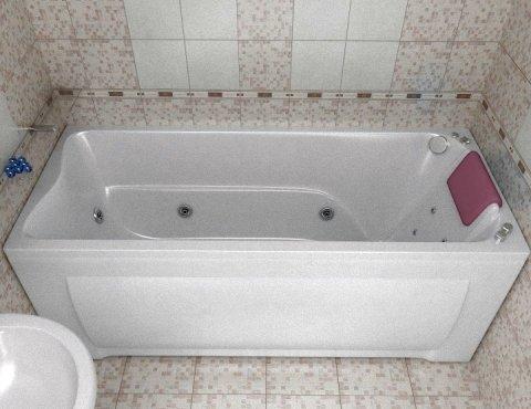 Монтаж ванной с гидромассажем